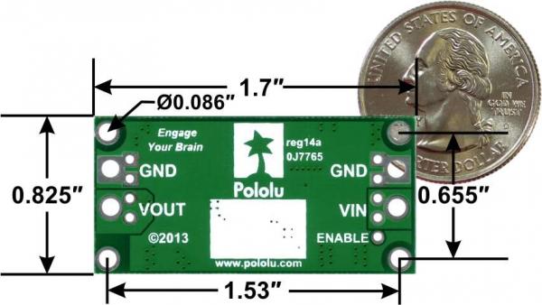 Stabilizator de tensiune step-up/step-down Pololu S18V20F24 24V 3