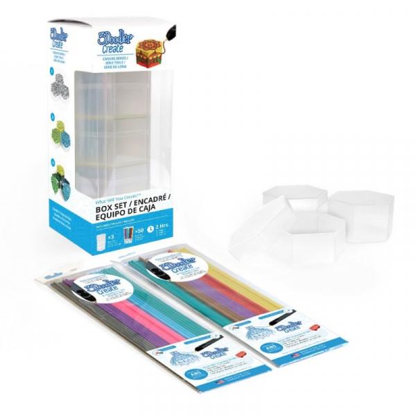 Suport obiect, pentru decorat cu Creion 3Doodler Create - include filamente 4
