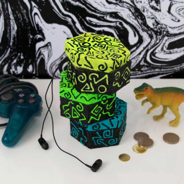Suport obiect, pentru decorat cu Creion 3Doodler Create - include filamente 7