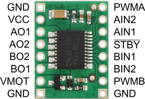 Motor Driver TB6612FNG Dual 1A 1