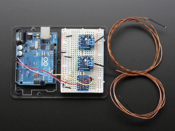 Termocuplu  Breakout Board - MAX31850K 1