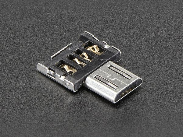 Adaptor Tiny OTG  - USB Micro la USB 0