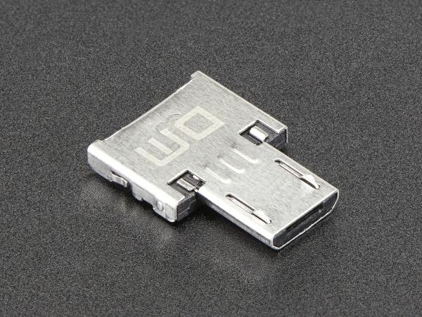 Adaptor Tiny OTG  - USB Micro la USB 1