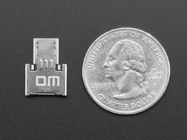 Adaptor Tiny OTG  - USB Micro la USB 2