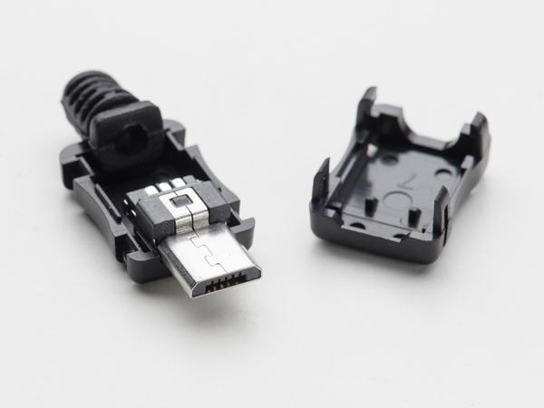 Conector MicroUSB DIY 0