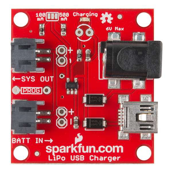 USB Incarcator LiPo - 1 Celula 0