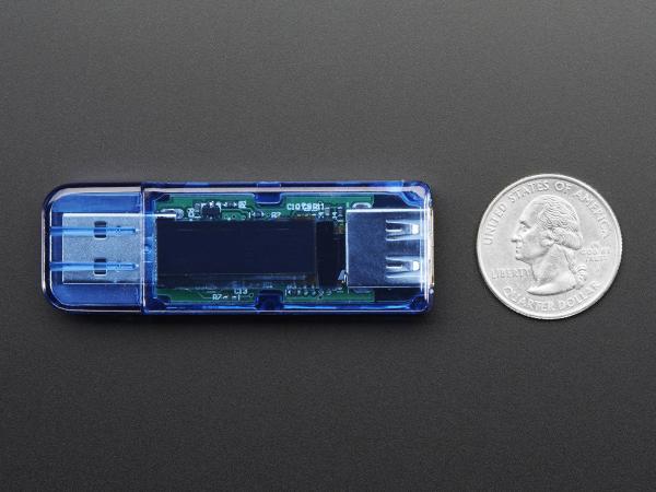 Indicator de tensiune USB cu dispaly OLED 7