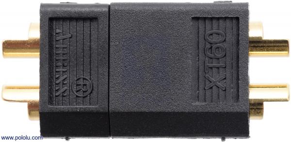 Conector XT60 Mama Tata Negre [2]
