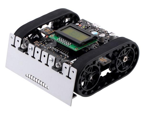 Robot  Zumo 32U4 (Asamblat cu Motoare 50:1 HP) 0