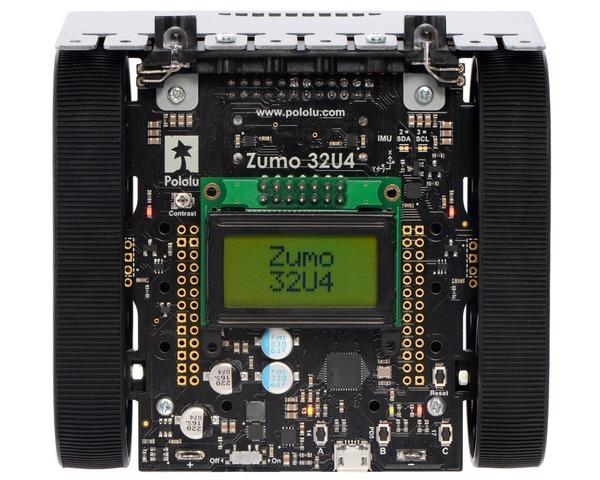 Robot  Zumo 32U4 (Asamblat cu Motoare 50:1 HP) 1