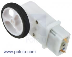 Motor cu cutie de viteze 120:1 tip Pololu1