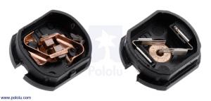 Motor electric micro metal 30:1 HPCB cu ax pentru encoder (Perii De Carbon) [2]