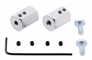 Adaptor pentru ax 3mm lungime 12mm [0]