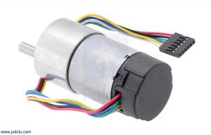Motor 500 RPM 19:1 cu encoder Pololu1
