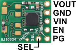 Regulator 3.3V(5V) Step-Up/Step-Down Cutoff S9V11F3S5C34