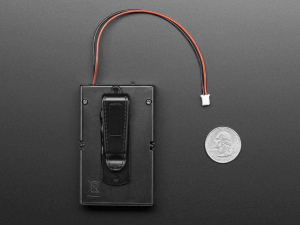 Suport pentru baterii 3xAA cu switch si clema curea [3]