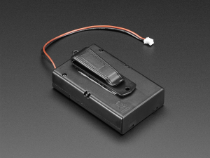 Suport pentru baterii 3xAA cu switch si clema curea [0]