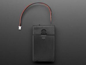 Suport pentru baterii 3xAA cu switch si clema curea [4]
