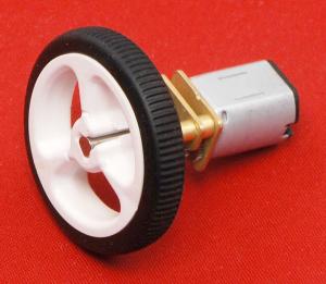 Motor electric micro metal 50:1 HPCB cu ax pentru encoder (Perii De Carbon) [4]