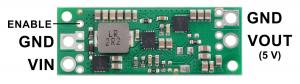 Regulator Step-up de 5V Pololu U3V70F51