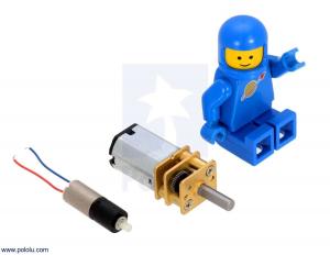 700:1 Sub-Micro Motor cu reductor 6Dx19L mm2