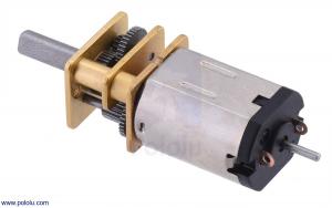 Motor electric micro metal 1000:1 HPCB cu ax pentru encoder (Perii De Carbon) [1]