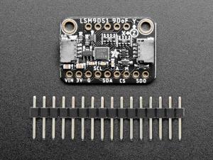 Breakout senzor miscare/directie/orientare Adafruit 9-DOF LSM9DS12
