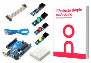 Kit pentru incepatori 7 Proiecte simple cu Arduino0