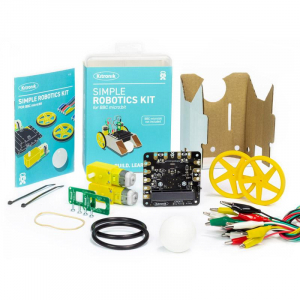 Kit robotica Kitronik Simple pentru BBC micro:bit3