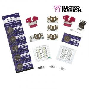 Kit textile electronice Kitronik Electro-Fashion Discovery0