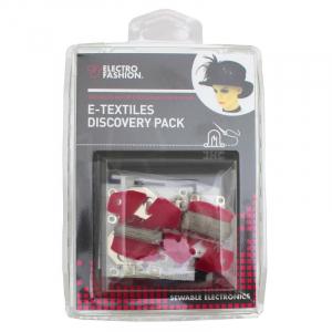 Kit textile electronice Kitronik Electro-Fashion Discovery1