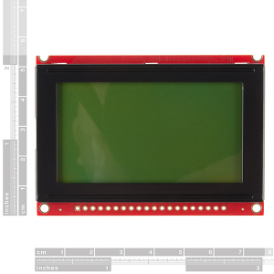 Modul LCD 128x64 STN cu LED backlight1