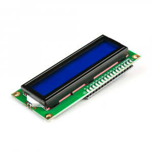Modul afisaj LCD cu lumina de fundal albastra si I2C1