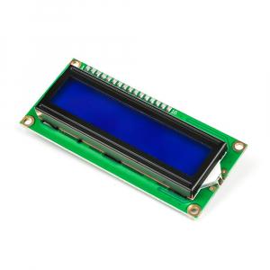 Modul afisaj LCD cu lumina de fundal albastra si I2C5