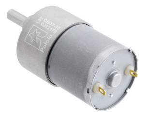 Pololu motor electric 30:1 37Dx52L 12V, pinion elicoidal2