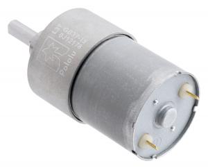 Pololu motor electric metalic, 19:1, 37Dx52L, 12V, pinion elicoidal [2]
