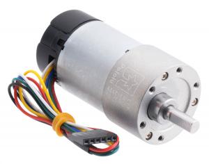 Pololu motor electric metalic, 30:1, 37Dx68L, 12V, pinion elicoidal encoder0