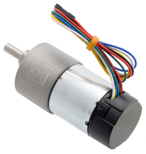 Pololu motor electric metalic 24V, 100:1, 37Dx73L, pinion elicoidal, encoder2