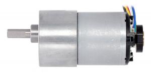 Pololu motor electric metalic 24V, 150:1, 37Dx73L, pinion elicoidal, encoder [6]