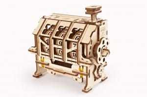 Puzzle mecanic 3D STEM Ugears Contor2
