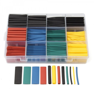 Set tuburi izolatoare termocontractabile colorate - 530 buc [1]