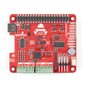 SparkFun Auto pHAT pentru Raspberry Pi3