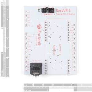 SparkFun EasyVR 3 Plus shield pentru Arduino4