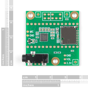 SparkFun Teensy 4 shield audio (Rev D)1
