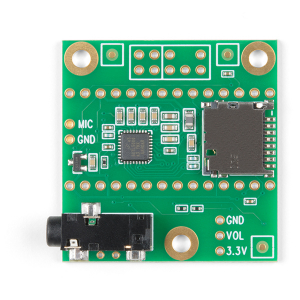 SparkFun Teensy 4 shield audio (Rev D)2