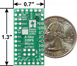 A-Star 328PB Micro - 3.3V, 8MHz compatibil Arduino3