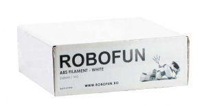 Filament Premium Robofun ABS 1KG  3 mm - Alb1