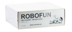 Filament Premium Robofun ABS 1KG  3 mm - Bronze Gold1