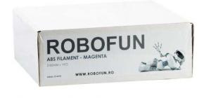 Filament Premium Robofun ABS 1KG  3 mm - Magenta1
