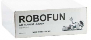 Filament Premium Robofun ABS 1KG  1.75 mm - Maro [1]